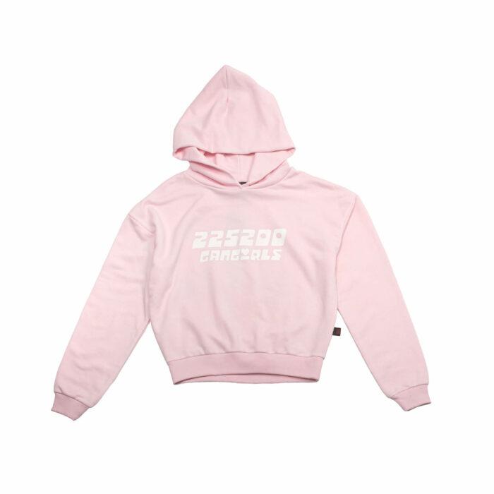 225200 nein krckbrnd gangirls crop hoodie