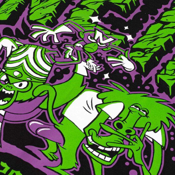 225200 nane krckbrnd nein monkeys t-shirt