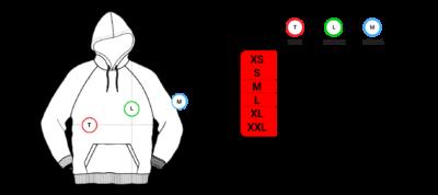 225200 nane krckbrnd hoodie size chart