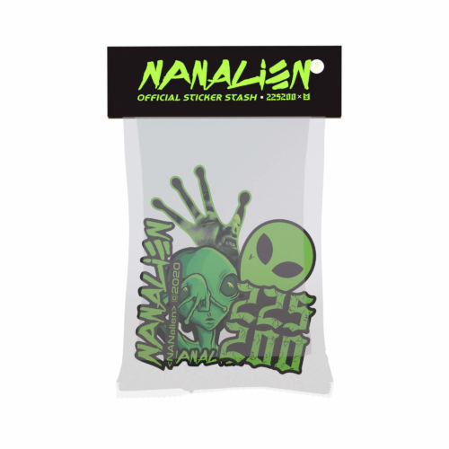 nanalien sticker stash 225200 nane krack